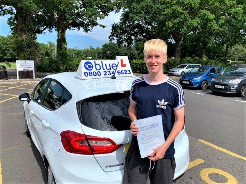Windsor Driving Test Success for Ben Walker