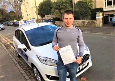 Windsor Driving Test for Dan Spiteri