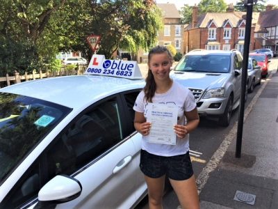 Windsor Driving Test pass for Annabelle Taylor