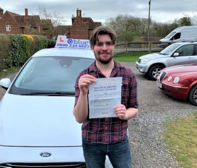 Windsor Driving Test pass for Dan Greenaway