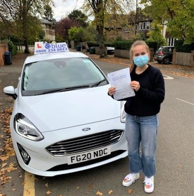 Windsor Driving Test pass for Izzy Selby