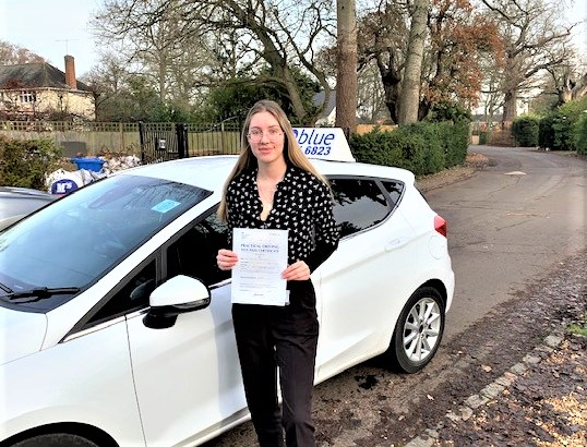 Windsor Driving Test pass for Laura Taylorson
