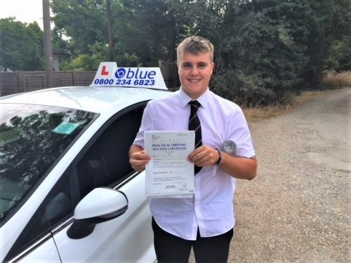 Windsor Driving Test Pass for Louis Maggs