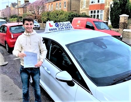 Windsor Driving Test pass for Matt Taylor