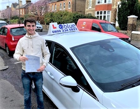 Windsor First Time Driving Test Pass for Matt Taylor