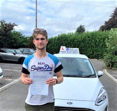 Windsor Driving test pass for Josh Frazer