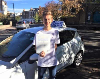 Windsor Driving test pass for Philo Brookes