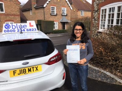 Winkfield Driving Lessons for Jasmin Dhaliwal
