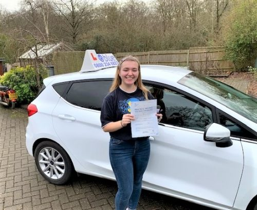 Winkfield Driving Test Pass for Grace Allen