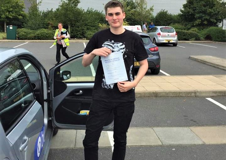 Wokingham Driving Lessons for Cameron Pillai
