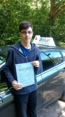 Wokingham Driving Lessosn for Andrew Tabb