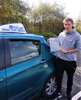 Wokingham Driving Test Pass for Luke Frewin