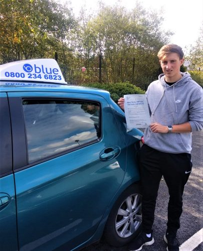 Wokingham Driving Test Pass for Luke Frewin
