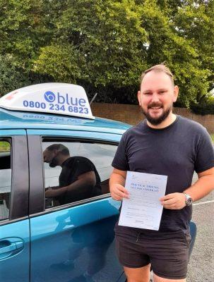 Wokingham Driving Test Pass for Matthew Legget