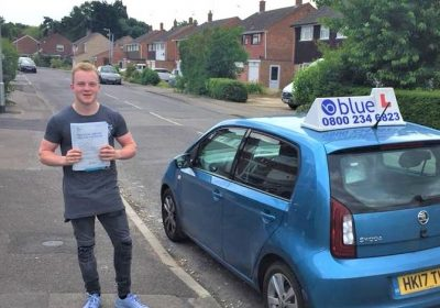 Wokingham Driving Test pass for Ben Rockall
