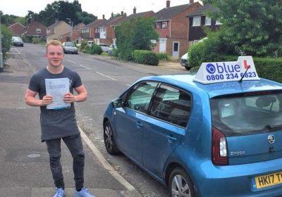 Wokingham Driving Test pass for Ben Rockall
