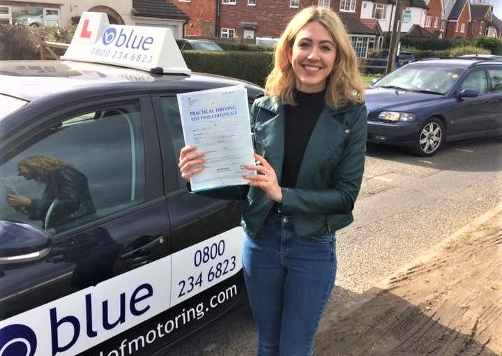 Congratulations to Lorna Brett from Wokingham on passing her driving test