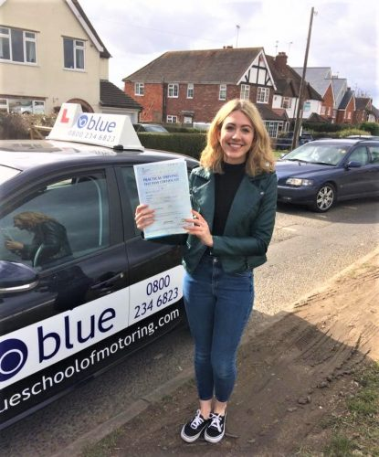 Wokingham Driving test Pass for Lorna Brett