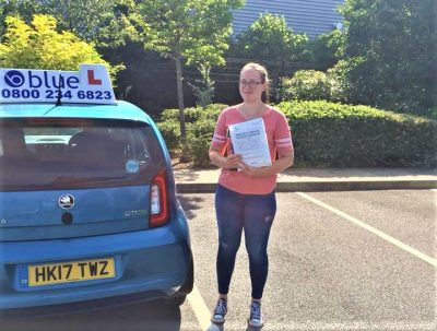 Yateley Driving Lessons for Danika MyClark