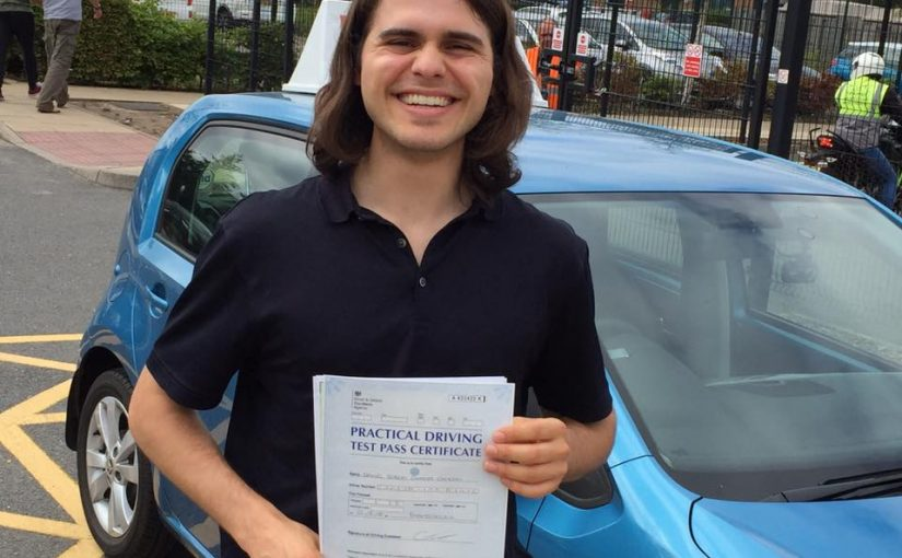 Yateley Hampshire Driving Test Pass for Daniel Cambray