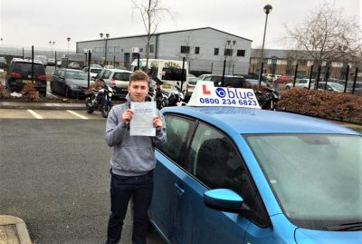 Yateley Driving Test Pass for Tom Kneller