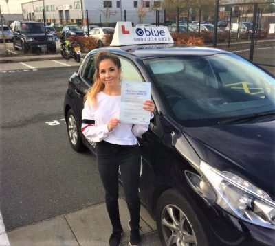 Yateley Driving Test for Heather Lewis