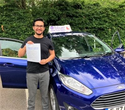 Yeovil Driving Test pass for David Campos