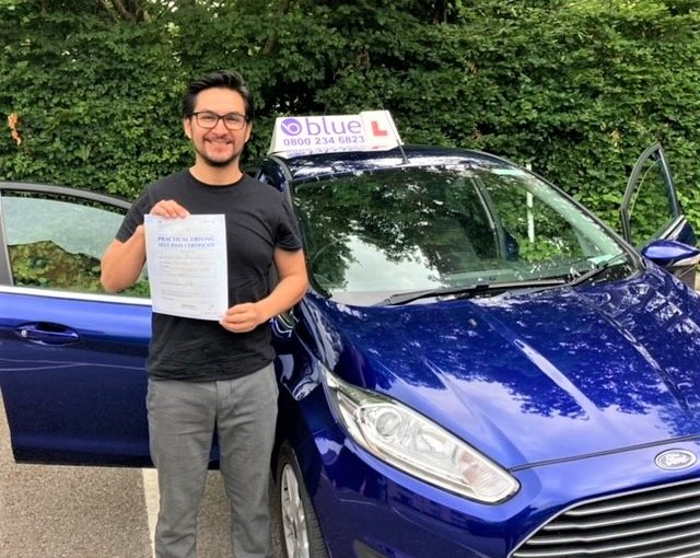 David Campos passed Driving Test in Yeovil