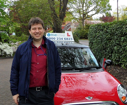 Tommy B, Camberley, Surrey - Blue Driving School