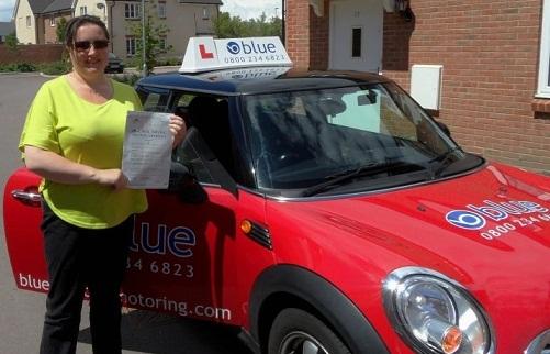 Helen from Bracknell, Berkshire - Blue Driving School