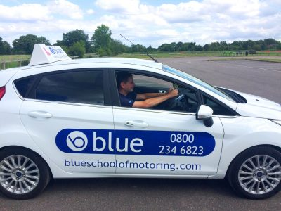 blue driving school