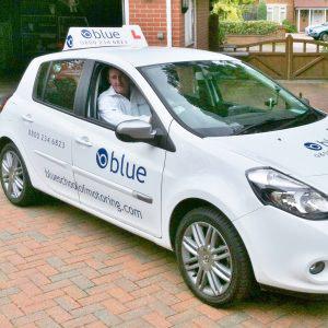 damien burke windlesham driving instructor